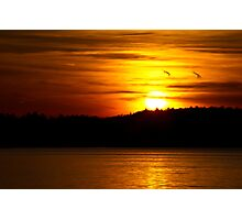 Sunset Colors Photographic Print