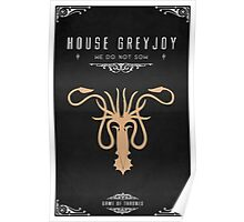 House Greyjoy Poster