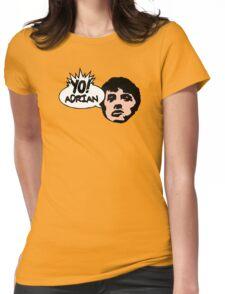 Yo! Adrian Raps Womens Fitted T-Shirt