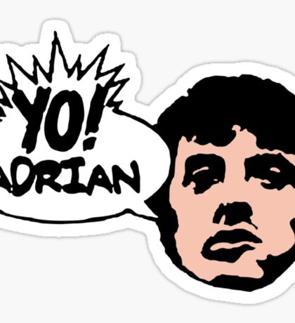 Yo! Adrian Raps Sticker