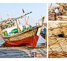 Qatar: Repair Work by Kasia-D