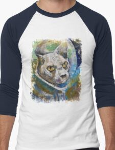 Space Cat Men's Baseball ¾ T-Shirt