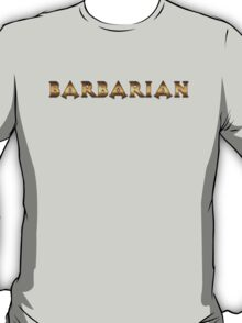 Barbarian (Rust Version) T-Shirt