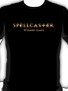 Spellcaster - Wizard Class (Rust Version) T-Shirt