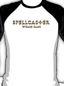 Spellcaster - Wizard Class (Rust Version) T-Shirt