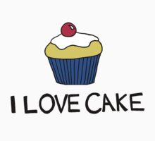 I LOVE CAKE by LydiaWoods