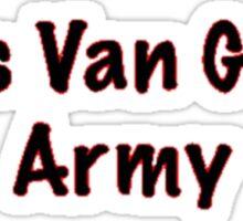 Louis Van Gaal's Army - Manchester United, Football Sticker