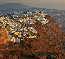 Fira at Sunset by brianhardy247