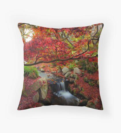 Glorious Autumn Throw Pillow