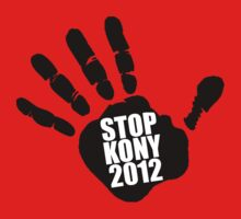 Stop Kony 2012 Hand Print by ScottW93