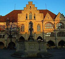Hildesheim Townhall by herbspics