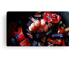 The Candy Giver Canvas Print