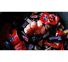 The Candy Giver Photographic Print