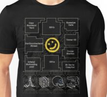 Smiley Cluelocked Unisex T-Shirt