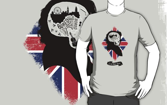 Sherlock's Mind (Teefury Version) by Malcassairo