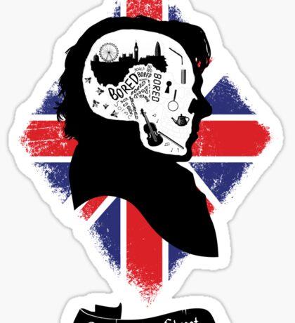 Sherlock's Mind (Teefury Version) Sticker