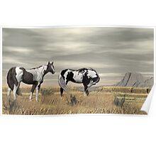 Lauri's Wild Horses Poster
