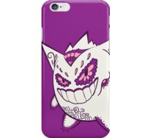 Gengar Pokemuerto | Pokemon & Day of The Dead Mashup iPhone Case/Skin