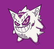 Gengar Pokemuerto | Pokemon & Day of The Dead Mashup by abowersock