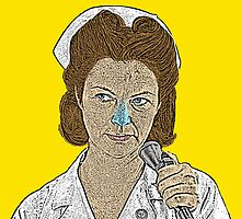 Nurse Ratched One Flew Over The Cuckoo's Nest by CultureCloth