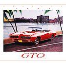 1969 Pontiac GTO Convertible ver 2 by brianrolandart
