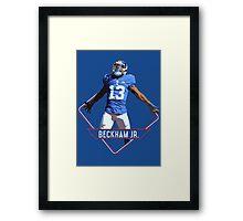 Odell Beckham Jr - New York Giants Framed Print