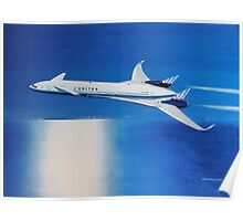 Boeing Sonic Cruiser Concept Aircraft Poster