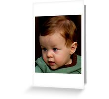 mommy said I was a gift... and the choice not to give birth to me was never an option... thank you mommy Greeting Card