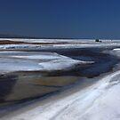 Ice fishing on Harmony Bay, Lake Superior Ontario Canada by Eros Fiacconi (Sooboy)
