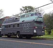 Double Decker Bus....AUSTIN,TX style by marilittlebird