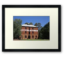 Connors Mill at Toodyay Framed Print