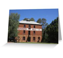Connors Mill at Toodyay Greeting Card