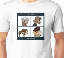 Gorillaz Metal Gear Solid Album Parody Unisex T-Shirt
