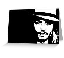 Johnny Depp - Tee Greeting Card