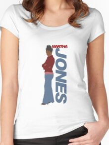 JONES. Martha Jones. Women's Fitted Scoop T-Shirt