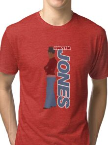 JONES. Martha Jones. Tri-blend T-Shirt