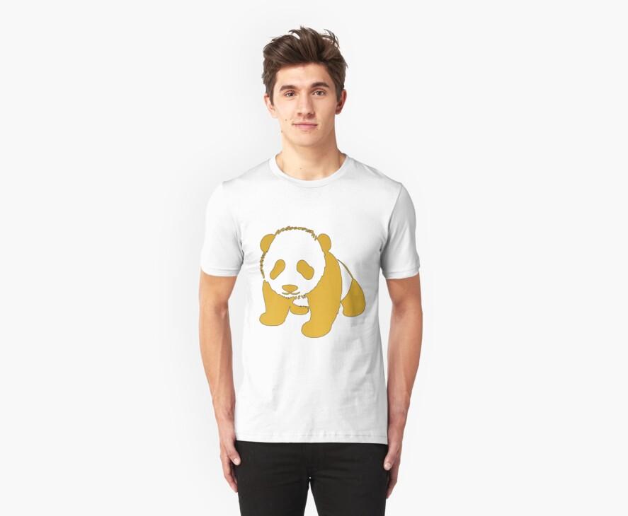 Golden Panda by jjdesigns