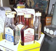 Old Food Colouring Bottles by myhobby