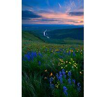 Selah Sunset Photographic Print