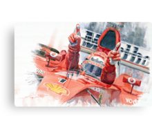 Scuderia Ferrari Marlboro F 2001 Ferrari 050 M Schumacher winner 2002 F1 season Canvas Print