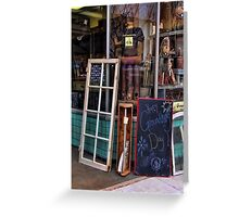 Odds and ends Greeting Card