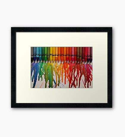 Chasing Rainbows Framed Print