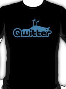 Qwitter Blue T-Shirt