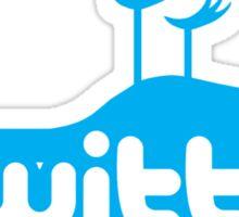Qwitter Blue Sticker