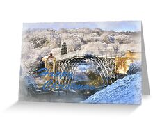 Ironbridge 1125 Happy Christmas Greeting Card