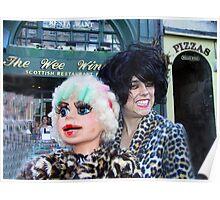 A wee chat at Edinburgh Fringe Festival Poster