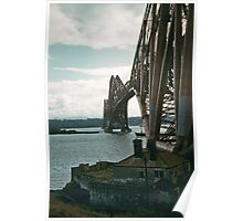 Forth Bridge from e North Queensferry 19570908 0005  Poster
