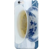 chinese green tea iPhone Case/Skin