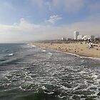 Santa Monica Beach by Robert Meyers-Lussier