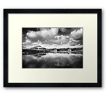 Twin Waters  Framed Print